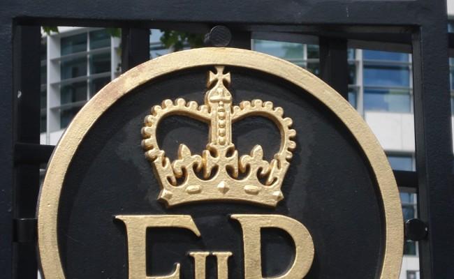 03 Londra monumenti dettaglio Buckingham Palace