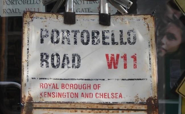 Londra emozioni case Portobello Road 1