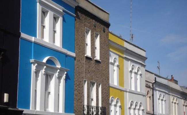 Londra emozioni case Portobello Road 10