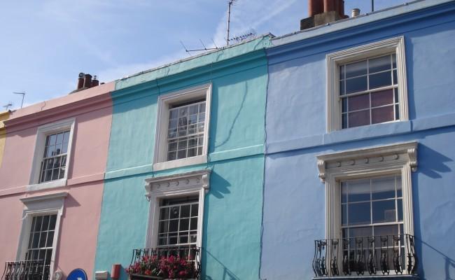 Londra emozioni case Portobello Road 6