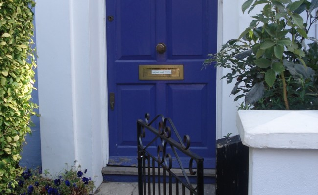 Londra emozioni case Portobello Road 8