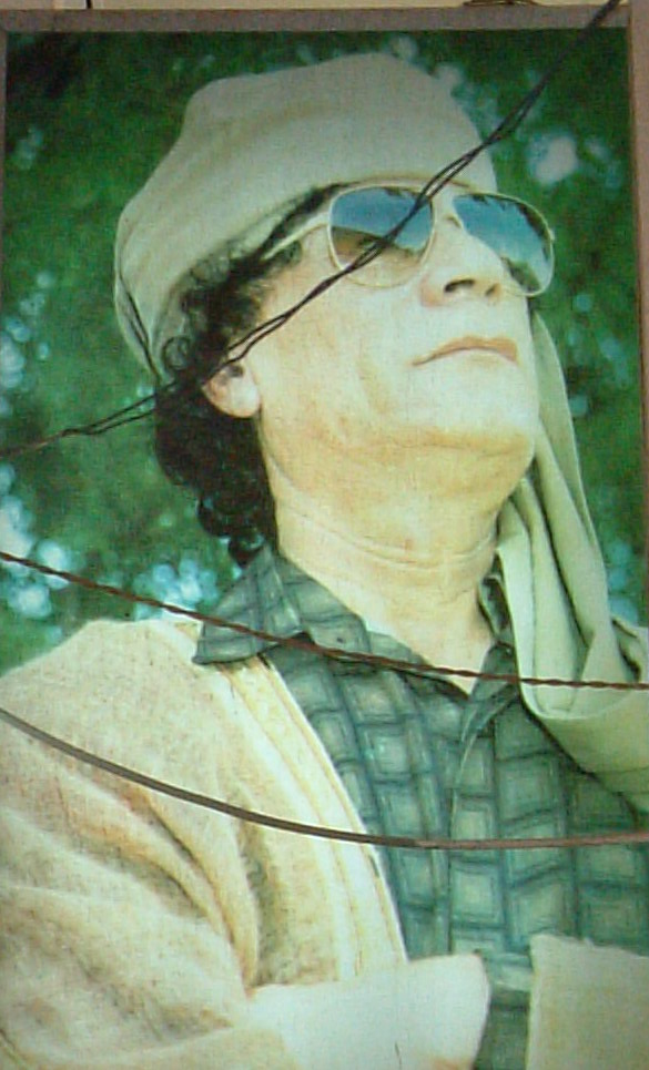 Tripoli insegna Gheddafi
