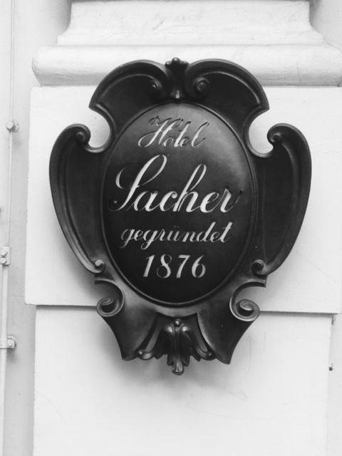 Vienna bn sacher hotel